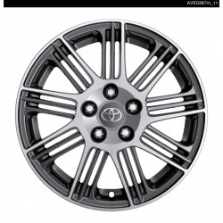 "Jante Alliage 17"" Pitlane- Anthracite face polie - Avensis Berline 2015 / Touring sport 2015"